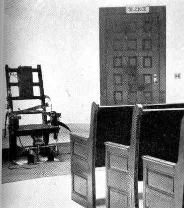 the electric chair for capital punishment Execution by electrocution, performed using an electric chair the united kingdom performed its last execution in 1964, and abolished capital punishment for murder the following year, thereby rendering any debate over method moot.